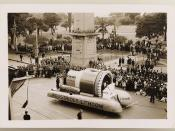 Industrious Lithgow [float]  from Sesquicentenary Manufacturers' Parade, Sydney, 1938