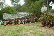 A New Zealand Cadet Corps unit on exercise