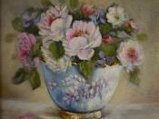 English: A tribute to Jane Austen - Bouquet Emma Woodhouse
