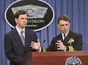 Pacific Partnership briefing at Pentagon.