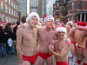 Karl Rove and Henry Hager in red Speedos