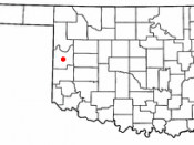 Location of the Black Kettle National Grassland