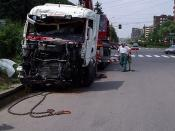 Milano - truck crash foto 3°