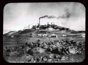 Silver mines at Broken Hill