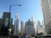 Chicago (ILL), Michigan-Wacker Historic District. North Michigan Ave.