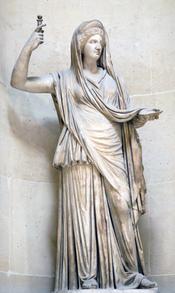Hera Campana. Marble, Roman copy of an hellenistic original, 2nd century AD (?).