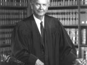 English: Official portrait of Justice William J. Brennan, taken in 1972