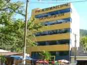 The Municipal building in Sacapulas
