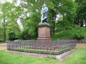 Statue of C. F. Gauss in Braunschweig