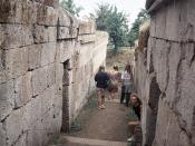 Etruscan Tombs at Orvieto (I)
