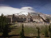 The Overlook Hotel (Timberline Lodge).