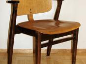 Domus chair. Designed by Ilmari Tapiovaara
