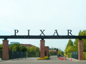 English: The entrance to Pixar's studio lot in Emeryville, California.