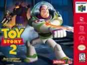 Toy Story 2: Buzz Lightyear to the Rescue box art.