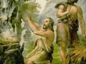 English: Cain and Abel