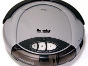 First generation Roomba (Roomba is a trademark of iRobot).