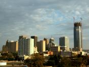 English: Downtown Oklahoma City from the northwest.