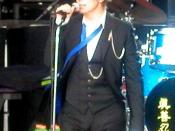 English: David Bowie at the Area2 Festival, San Francisco