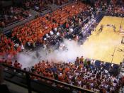 2007 Virginia Tech @ University of Virginia men's basketball at John Paul Jones Arena