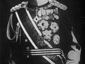 The Emperor Showa (a wartime photograph).