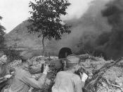 At Kursk, the Red Army committed more than a million men, more than 3,275 tanks and 25,000 guns and mortars. Soviet riflemen like these had to hold off