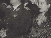 Eva Duarte (Evita). Casamiento con Perón.