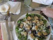 Caesar salad, at