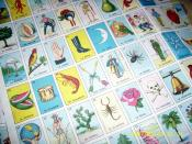 Iconic pictograms used in Lotería