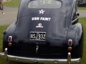 US Navy Staff Car