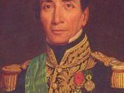 Español: El mariscal Andrés de Santa Cruz