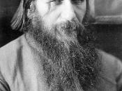 Grigori Rasputin, the famous Russian mujique (1864-1916)