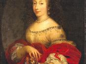 Henrietta Anne Stuart, Duchess of Orleans, youngest daughter of Charles I and Henrietta Maria