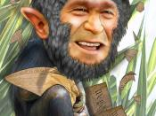 George Bush, Chimp