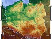 Poland's topography