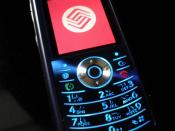 English: Motorola L71 (China Mobile customised model)
