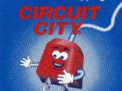 Circuit City Pluggie mascot used from 1998 to 2001.