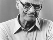 Arthur Miller, American playwright
