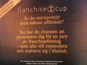 Franchise cup. #entreprenörskap