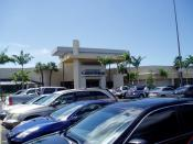 English: The main entrance into Coral Square in Coral Springs, Florida.