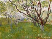 Vincent van Gogh: Kirschbaum. Frühjahr 1888, Öl auf Leinwand, 72,4 x 53,3 cm, The Metropolitan Museum of Art (Mr. and Mrs. Henry, Ittleson Jr. Fund, 1956), New York