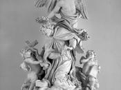 Baroque statue, Vienna