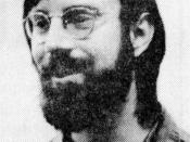Bob Wallace (May 29, 1949 - September 20, 2002). When this photograph was taken in 1977, he was a founding member of the Northwest Computer Society, a clerk at Seattle's Retail Computer Store and a graduate student in Computer Science at the University of