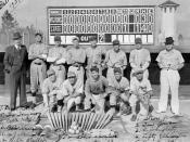 Raiford State Prison baseball team