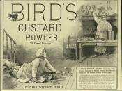 Great British Brands - Bird's Custard