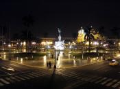 English: Main Square of Trujillo