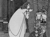 An illustration for an 1898 edition of Volpone by Aubrey Beardsley
