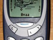 English: Nokia 3310 GSM phone Suomi: Nokia 3310 GSM-puhelin