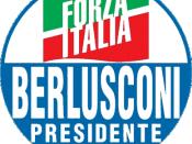 The logo of Forza Italia used in the 2006 electoral campaign