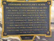 Ferdinand Magellan's death