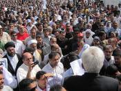 Sunni opposition figure speaks